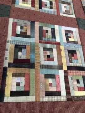 yarn-dyed fabric club quilt