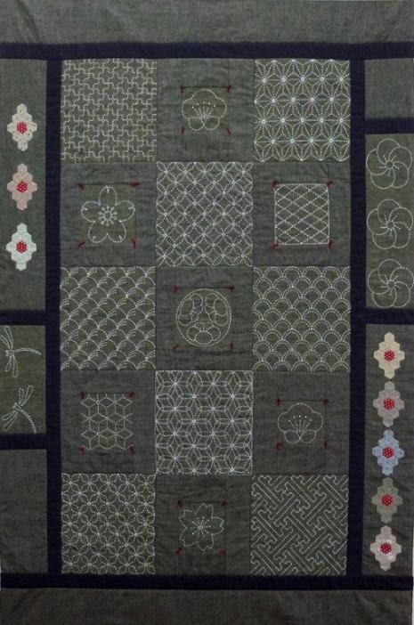 Sashiko Panel Quilt